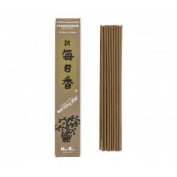 Box of 50 Japanese incense sticks, MORNING STAR FRANKINCENSE, olibanum scent
