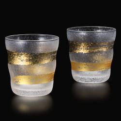 Set of 2 Japanese whiskey glasses, PREMIUM KINICHIMONJI
