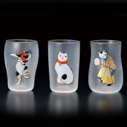 Set di 3 bicchieri giapponesi gatti NEKO EDONEKO