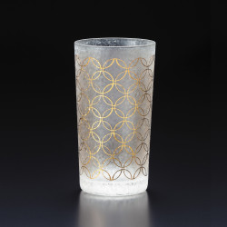 Japanese straight glass, WAKOMON SHIPPO