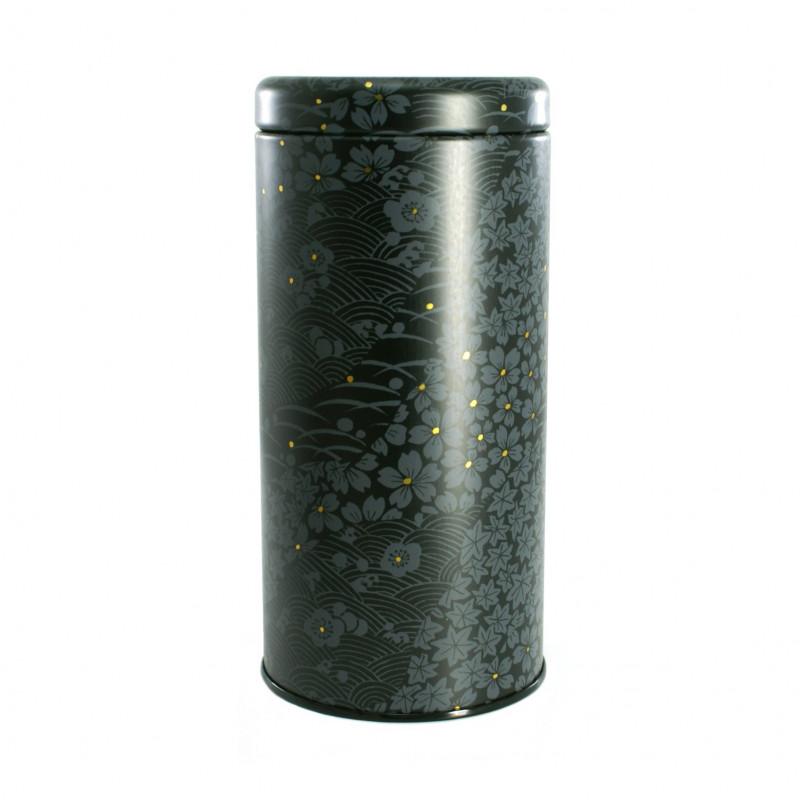 boîte à thé japonaise métallique 016T2C
