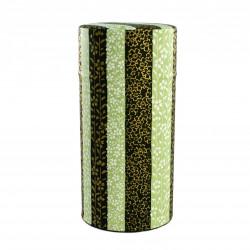Japanese tea box made of washi paper, SAKURA, lines