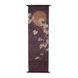 Tapisserie en Chanvre, peint à la main, YAMABUDO, fabriqué au Japon
