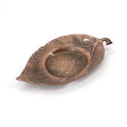 Dessous de verre / tasse en métal couleur bronze - SUCHIRUFURAWA