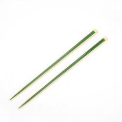 Paar japanische grüne Bambus-Essstäbchen - TAKE MIDORI