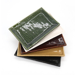 Set of 5 Japanese rectangular plates - GOJU