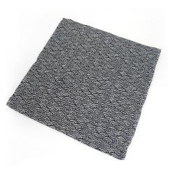 Funda de almohada 50x50 - MAKURA KABA - patrón seigaiha