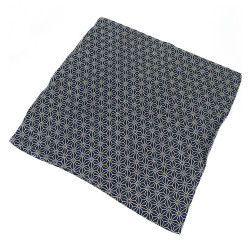 Taie d'oreiller 50x50 - MAKURA KABA - motif asanoha