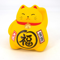 Japanese manekineko cat lucky piggy bank, KI OKANE