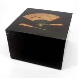 Large japanese lunch box jyubako, SENSU, Fan