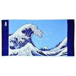 Bath towel, BATH TOWEL UNAHARA, the wave