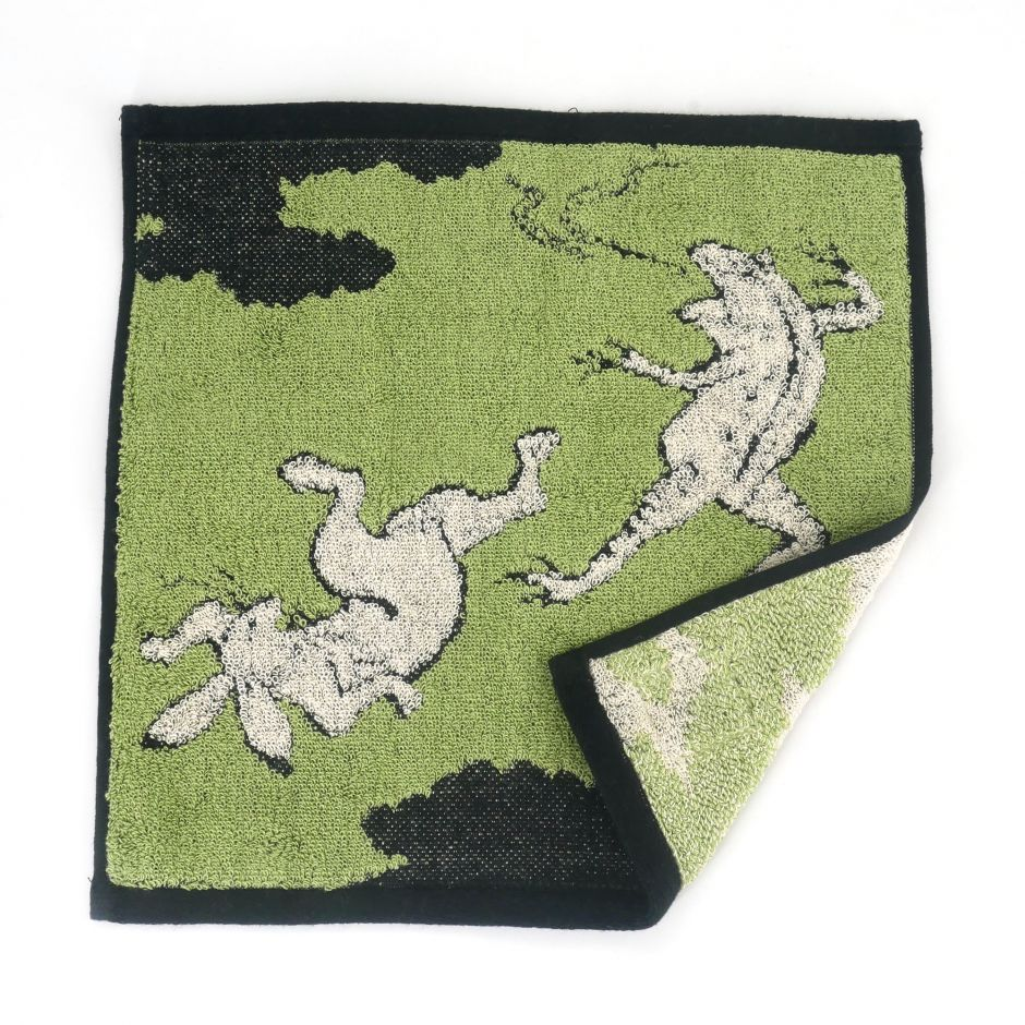 Asciugamano, HAND TOWEL NOW THE OLD DAYS, verde
