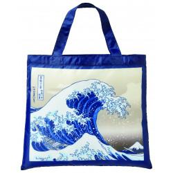 Eco-friendly polyester bag, ECO BAG NAMIURA WALK, wave