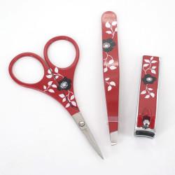 Japanese manicure set, camellia TSUBAKI