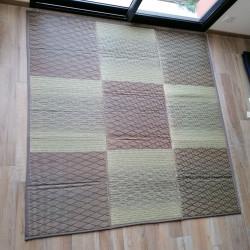 alfombra japonesa tradicional en paja de arroz, KASSHOKU