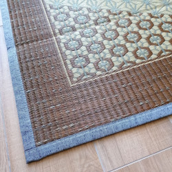 japanese straw mat carpet asanoha patterns KUMIKO