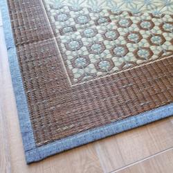 tapis traditionnel japonais natte paille de riz asanoha KUMIKO