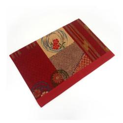 Fabric placemat - SAMAZAMANA - red