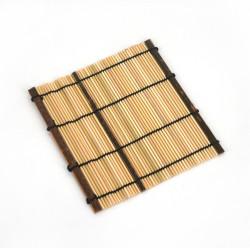 Bambus Untersetzer, einige, natürlich