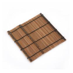 Dunkler Bambusuntersetzer, EINIGE, natürlich