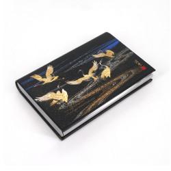 Porte-cartes rectangulaire japonais décoré, MIYABI TSURU