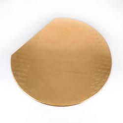 Set de table japonais en résine doré, ASANOHA