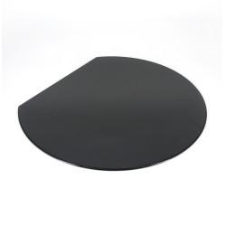 Japanese black resin placemat, ASANOHA