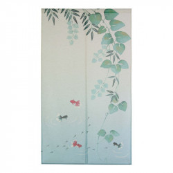 Japanese noren polyester curtain, KINGYO