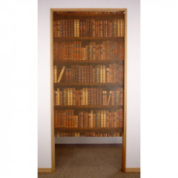 Japanese noren polyester curtain, BOOK SHELF