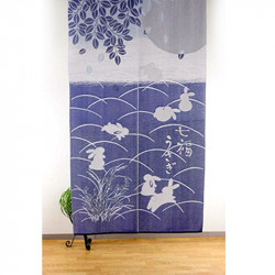 Japanese noren polyester curtain, USAGI