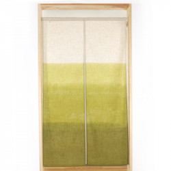 Japanese noren polyester curtain, REKKA SHITA