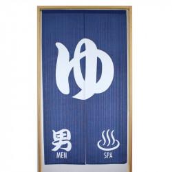 Japanese noren polyester curtain, OTOKO ONSEN