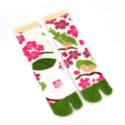 Japanese tabi cotton socks, KITSUTSUKI
