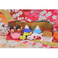 Gomme japonaise, JAPAN IWAKO, couleur au hasard