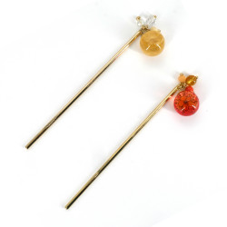 Kanzashi hairpick, FLOWER
