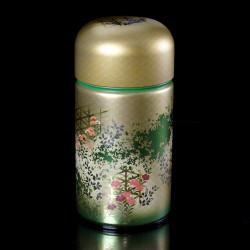 boîte à thé japonaise métallique 1420SG