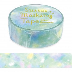 Masking tape, Green watercolour, WATERCOLOR WASHI TAPE