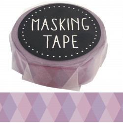 Masking tape, violette Geometrie, GEOMETRY WASHI TAPE