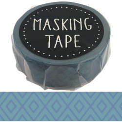 Masking tape, blue geometry, GEOMETRY WASHI TAPE