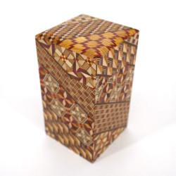 Japanese tea box traditional Japanese parquetry YOSEGI