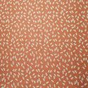 Japanese red cotton fabric with dragonfly motif, TOMBO, made in Japan width 112 cm x 1m