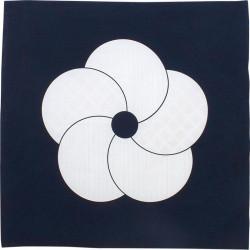 Japanese Furoshiki in cotton, HARE TSUTSUMI, Plum