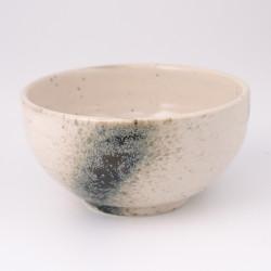 bol japonais à soupe en céramique beige GIGA