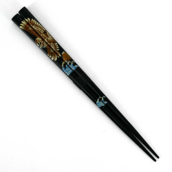 Pair of Japanese chopsticks in natural wood - WAKASA NURI TAKA