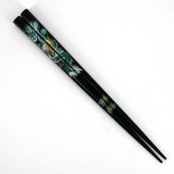 Pair of Japanese chopsticks in natural wood - WAKASA NURI RYU