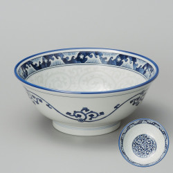 japanese noodle ramen bowl, Nami, waves