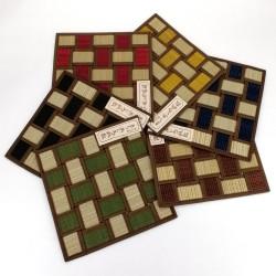 Square tatami trivet / teapot 22 x 22 cm, BAIKARA