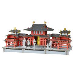 Mini cardboard mockup, BYODO-IN, Temple of the Phoenix, made in Japan