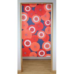 Japanese noren polyester curtain, Japanese parasol KASA