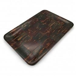 Rectangular cherry bark tray, ICHIMATSU